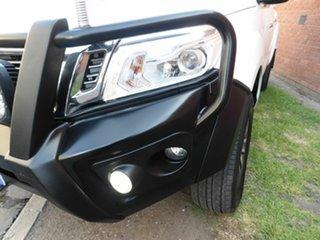 2015 Nissan Navara D23 ST-X White 6 Speed Manual Utility