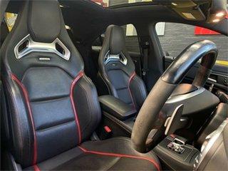 2013 Mercedes-Benz CLA-Class C117 CLA45 AMG Silver Sports Automatic Dual Clutch Coupe