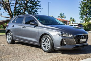 2017 Hyundai i30 PD MY18 Active Iron Gray 6 Speed Sports Automatic Hatchback.