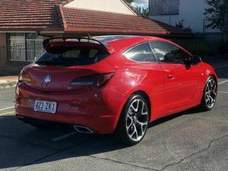 2015 Holden Astra PJ MY15.5 VXR Red 6 Speed Manual Hatchback.