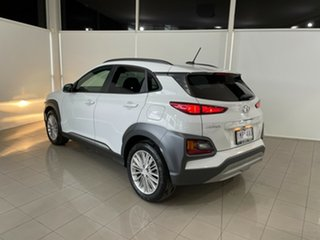 2018 Hyundai Kona OS MY18 Elite 2WD White 6 Speed Sports Automatic Wagon.