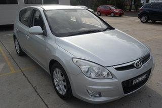 2008 Hyundai i30 FD SLX Silver 5 Speed Manual Hatchback.