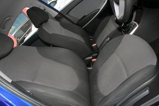 2013 Hyundai Accent RB Active Blue 5 Speed Manual Sedan