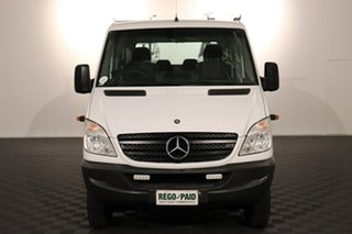 2012 Mercedes-Benz Sprinter NCV3 MY12 516CDI LWB White 5 speed Automatic Cab Chassis.
