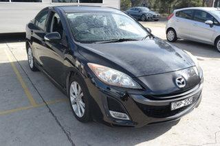 2009 Mazda 3 BL10L1 SP25 Black 6 Speed Manual Sedan.