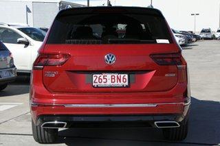 2021 Volkswagen Tiguan 5N MY21 162TSI Highline DSG 4MOTION Allspace Ruby Red 7 Speed.