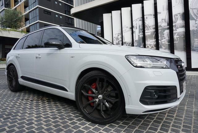 Used Audi SQ7 4M TDI East Brisbane, 2018 Audi SQ7 4M TDI Glacier White 8 Speed Sports Automatic Wagon