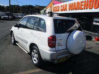 2004 Toyota RAV4 ACA23R CV (4x4) White 5 Speed Manual Wagon.