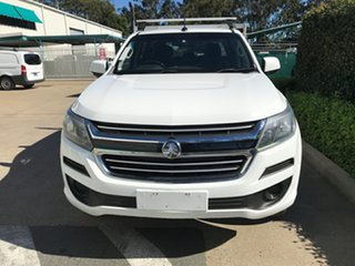 2016 Holden Colorado RG MY17 LS Crew Cab 4x2 White 6 speed Automatic Cab Chassis