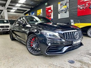 2020 Mercedes-Benz C-Class C205 C63 AMG S Black Sports Automatic Coupe.
