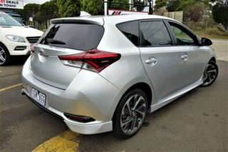2016 Toyota Corolla ZRE182R SX S-CVT Silver 7 Speed Constant Variable Hatchback.