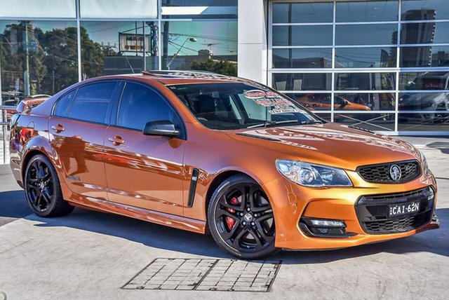 Used Holden Commodore VF II MY17 SS V Redline Liverpool, 2017 Holden Commodore VF II MY17 SS V Redline Light My Fire 6 Speed Sports Automatic Sedan