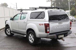 2016 Isuzu D-MAX MY15.5 LS-U Crew Cab Silver 5 Speed Sports Automatic Utility.