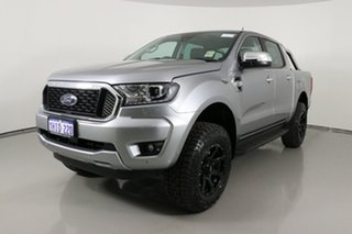 2021 Ford Ranger PX MkIII MY21.25 XLT 3.2 (4x4) Silver 6 Speed Automatic Double Cab Pick Up.