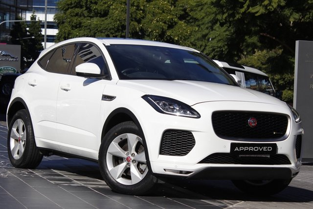 Used Jaguar E-PACE X540 18MY Standard R-Dynamic S Newstead, 2017 Jaguar E-PACE X540 18MY Standard R-Dynamic S White 9 Speed Sports Automatic Wagon
