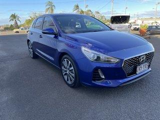 2018 Hyundai i30 PD2 MY18 Elite Blue 6 Speed Sports Automatic Hatchback