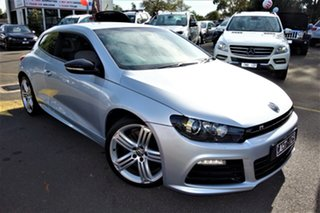 2012 Volkswagen Scirocco 1S MY13 R Coupe DSG Silver 6 Speed Sports Automatic Dual Clutch Hatchback.