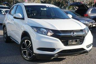 2018 Honda HR-V MY18 VTi White 1 Speed Constant Variable Hatchback.