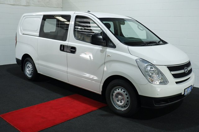 Used Hyundai iLOAD TQ2-V MY14 Glenorchy, 2014 Hyundai iLOAD TQ2-V MY14 Creamy White 5 Speed Automatic Van