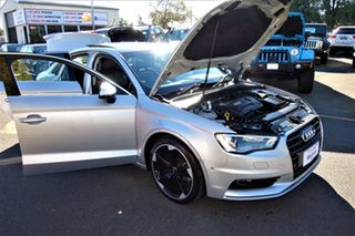 2013 Audi A3 8V MY14 Ambition S Tronic Silver 7 Speed Sports Automatic Dual Clutch Sedan