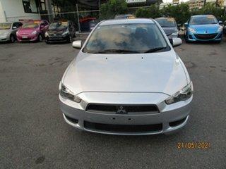 2011 Mitsubishi Lancer CJ MY11 SX Silver 6 Speed CVT Auto Sequential Sedan.