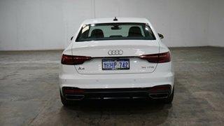 2020 Audi A4 B9 8W MY21 35 TFSI S Tronic S Line White 7 Speed Sports Automatic Dual Clutch Sedan
