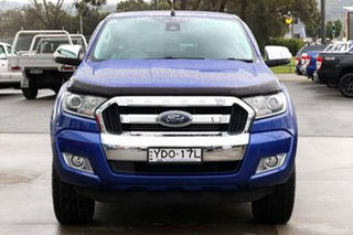 2016 Ford Ranger PX MkII XLT Double Cab Blue 6 Speed Manual Utility