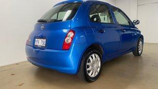 2007 Nissan Micra K12 Blue 4 Speed Automatic Hatchback.