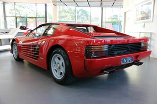 1986 Ferrari Testarossa Coupe 2dr Man 5 Red Coupe