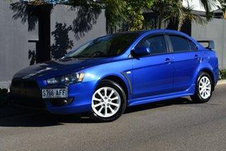 2009 Mitsubishi Lancer CJ MY10 VR Blue 5 Speed Manual Sedan.