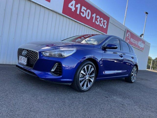 Used Hyundai i30 PD2 MY18 Elite Bundaberg, 2018 Hyundai i30 PD2 MY18 Elite 6 Speed Sports Automatic Hatchback