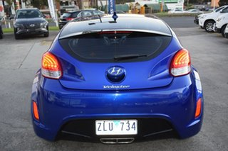 2012 Hyundai Veloster FS Coupe Blue 6 Speed Manual Hatchback
