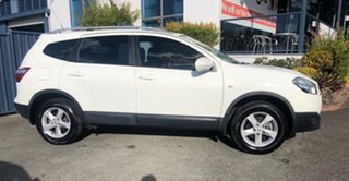 2012 Nissan Dualis J107 Series 3 MY12 +2 Hatch X-tronic 2WD ST White 6 Speed Constant Variable.