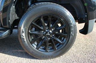2018 Mitsubishi Triton MQ MY18 Blackline Double Cab Grey 6 Speed Manual Utility