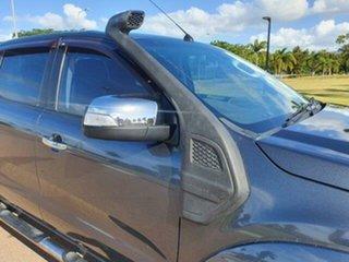 2013 Ford Ranger PX XLT Double Cab Metropolitan Grey 6 Speed Manual Utility