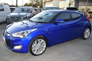 2012 Hyundai Veloster FS Coupe Blue 6 Speed Manual Hatchback.