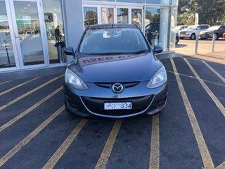 2011 Mazda 2 DE10Y1 MY10 Maxx Grey 4 Speed Automatic Hatchback.