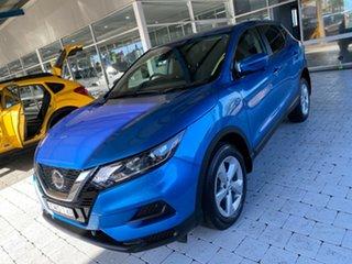2019 Nissan Qashqai ST+ Blue Constant Variable Wagon.