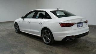 2020 Audi A4 B9 8W MY21 35 TFSI S Tronic S Line White 7 Speed Sports Automatic Dual Clutch Sedan.
