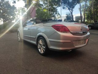2007 Holden Astra AH MY07.5 Twin TOP Metallic Silver 4 Speed Automatic Convertible