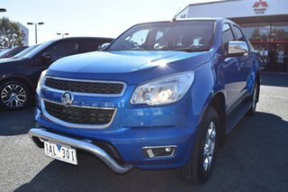 2014 Holden Colorado RG MY14 LTZ Crew Cab Blue 6 Speed Sports Automatic Utility.