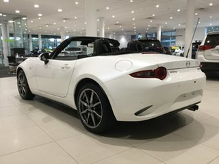 2020 Mazda MX-5 ND GT SKYACTIV-Drive Snowflake White 6 Speed Sports Automatic Roadster
