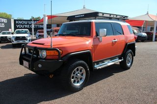 2012 Toyota FJ Cruiser GSJ15R Orange Clay 5 Speed Automatic Wagon.