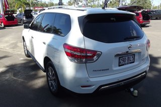 2015 Nissan Pathfinder R52 MY15 ST X-tronic 2WD White 1 Speed Constant Variable Wagon Hybrid.