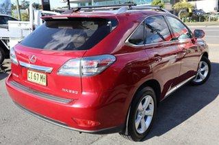 2010 Lexus RX GGL15R RX350 Prestige Red 6 Speed Sports Automatic Wagon.