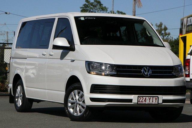 Used Volkswagen Multivan T6 MY18 TDI340 SWB DSG Comfortline Rocklea, 2018 Volkswagen Multivan T6 MY18 TDI340 SWB DSG Comfortline Oryx White Pearl 7 Speed