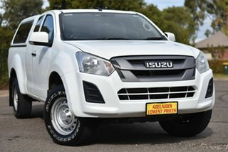 2017 Isuzu D-MAX MY17 SX Space Cab 4x2 High Ride White 6 Speed Sports Automatic Utility.