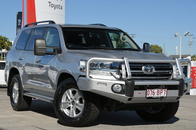 Pre-Owned Toyota Landcruiser VDJ200R GXL Albion, 2017 Toyota Landcruiser VDJ200R GXL Silver Pearl 6 Speed Sports Automatic Wagon