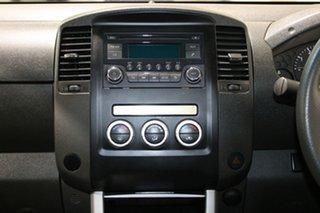 2014 Nissan Navara D40 MY12 ST (4x4) Silver 6 Speed Manual Dual Cab Pick-up