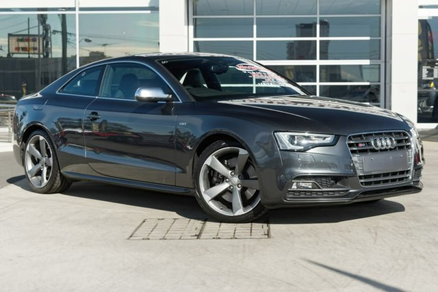 Used Audi S5 8T MY14 S Tronic Quattro Liverpool, 2014 Audi S5 8T MY14 S Tronic Quattro Daytona Grey 7 Speed Sports Automatic Dual Clutch Coupe
